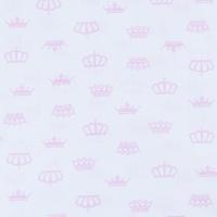 Ткань на отрез бязь плательная б/з 150 см 369/2 цвет розовый