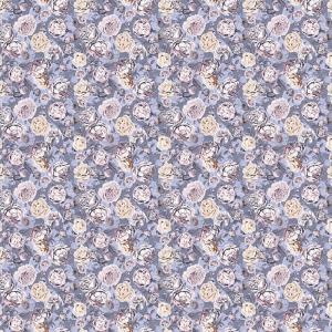 Фланель Престиж 150 см набивная арт 525 Тейково рис 21213 вид 2 Розалия