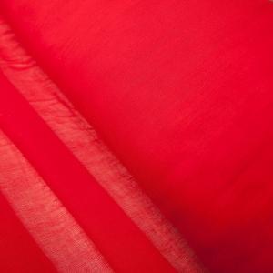 Ситец гладкокрашеный 80 см 65 гр/м2 цвет красный