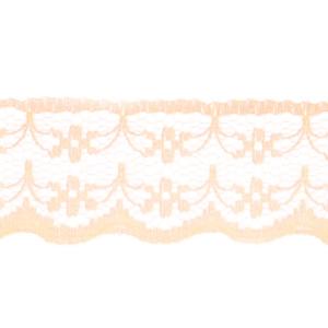 Кружево капрон 20 мм/10 м цвет 133-1 персиковый