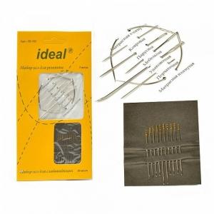 Иглы IDEAL 192 набор для ремонта - 7 игл, для слабовидящих - 10 игл (0340-0192)