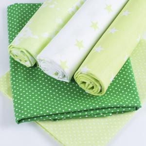 Набор отрезов ткани 50/50 +/- 5 см 5 шт 406