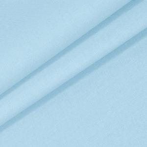 Бязь гладкокрашеная 120 гр/м2 220 см цвет небесно-голубой