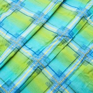 Скатерная ткань на отрез с пропиткой 150 см цвет зеленый