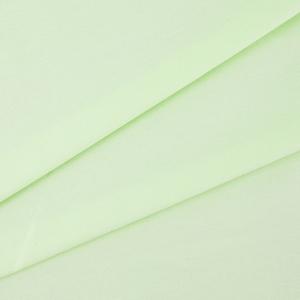 Ткань на отрез поплин гладкокрашеный 115 гр/м2 220 см цвет салатовый