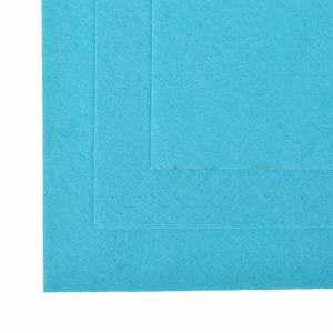 Фетр листовой мягкий IDEAL 1 мм 20х30 см FLT-S1 упаковка 10 листов цвет 615 голубой