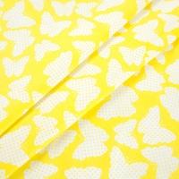 Бязь плательная 150 см 1792/1 цвет желтый
