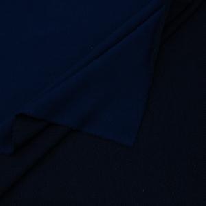 Ткань на отрез футер 3-х нитка диагональный цвет темный индиго