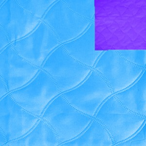 Ультрастеп 220 +/- 10 см цвет голубой-фиолетовый на отрез