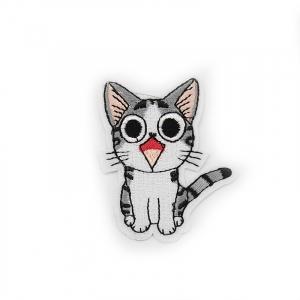 Аппликация мяукающий котёнок 5,5*6,5см