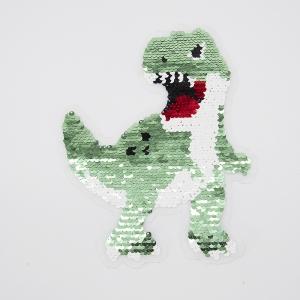 Аппликация Динозавр трансформер 22*18см