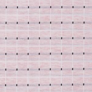 Ткань на отрез футер с лайкрой Жаккард цвет розовый
