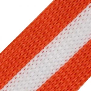 Лампасы №84 белый оранжевый 2 см уп 10 м