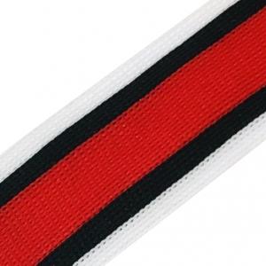 Лампасы №92 белый красный черный 3,5см уп 10 м