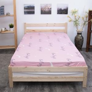 Простыня на резинке бязь 774-1 Good night (комп.) 160/200/20 см