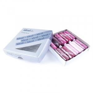 Набор бытовых ниток Ideal 40/2 100% п/э розовые оттенки уп 10шт