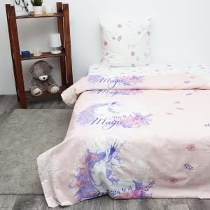 Детское постельное белье из бязи 1.5 сп 3025-2 Единорог