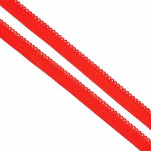 Резинка TBY бельевая 10 мм RB03162 цвет F162 красный 1 метр
