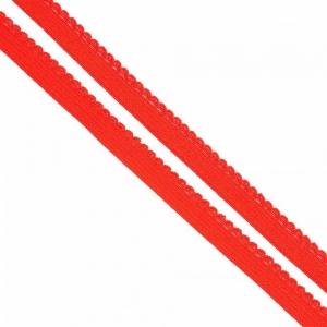 Резинка TBY бельевая 8 мм RB02162 цвет F162 красный 1 метр