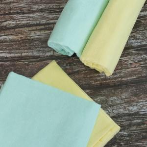 Набор детских пеленок фланель 4 шт 75/120 см Желтый/Фисташковый