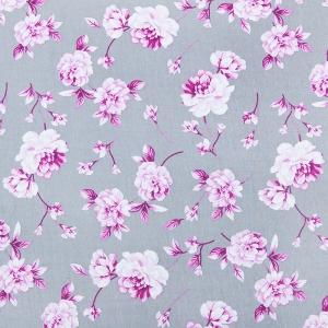 Ткань на отрез кулирка Цветы 6044-V2