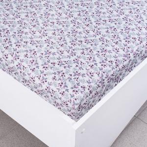 Простыня трикотажная на резинке цвет цветы50 120/200/20 см