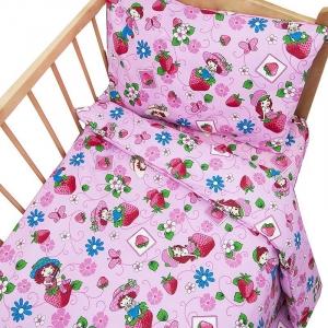 Постельное белье в детскую кроватку 1420 с простыней на резинке