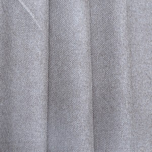 Ткань на отрез Blackout лен рогожка 508-34 светло-серый