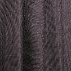 Ткань на отрез Blackout лен рогожка 508-39 коричневый