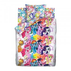 КПБ 1.5 хлопок My Little Pony Neon (70х70) рис. 16027-1/16028-1 Граффити
