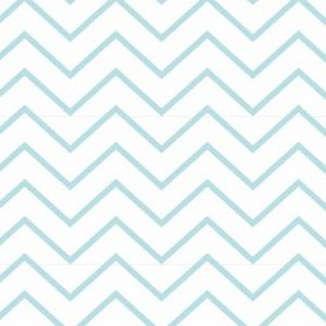 Ткань на отрез интерлок пенье Зигзаг светло-мятный 5705-17