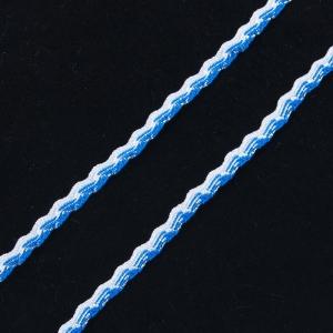 Тесьма плетеная вьюнчик (МЕТАНИТ) С-3784 г17 уп 20 м ширина 7 мм (5 мм) рис 9377 цвет 39