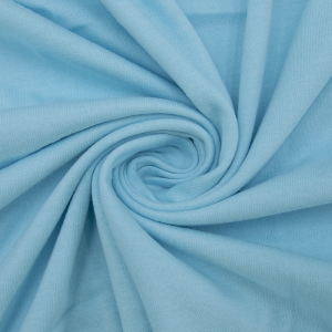 Ткань на отрез кулирка М-2065 цвет светлая бирюза