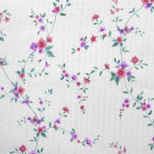 Поплин 220 см 115 г/м2 12116/1 Нежные цветы основа