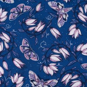 Ткань на отрез кулирка R4147-V4 цвет синий
