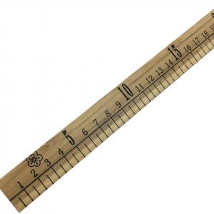 Метр портновский деревянный