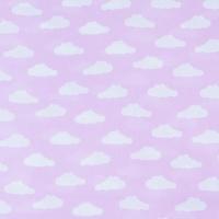 Ткань на отрез бязь плательная 150 см 1745/2 цвет розовый
