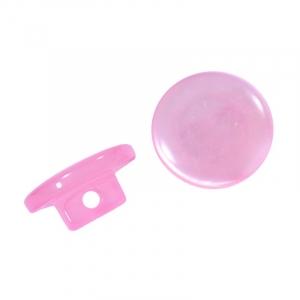 Пуговицы Т-18 11 мм цвет св-розовый упаковка 12 шт