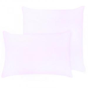 Наволочка на молнии Трикотаж цвет розовый в упаковке 2 шт 70/70 см