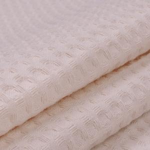 Ткань на отрез вафельное полотно гладкокрашенное 150 см 240 гр/м2 7х7 мм цвет 804 бежевый