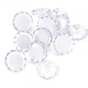 Пуговицы Блузочные 13 мм цвет С082 белый упаковка 24 шт