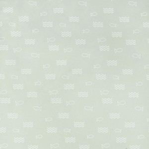 Ткань на отрез поплин детский 220 см 28320/1 Морской бой компаньон