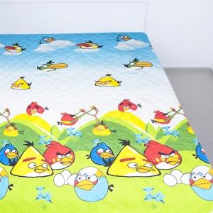 Покрывало ультрастеп двухстороннее  Angry Birds HL3850 150/210