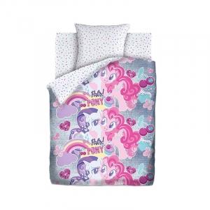 КПБ 1.5 хлопок My little Pony Neon (70х70) рис. 16029-1/16030-1 Подружки пони