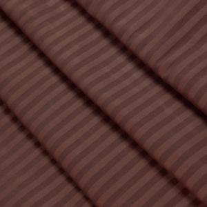 Ткань на отрез Страйп сатин полоса 3х3 см 240 см 140 гр/м2 В011