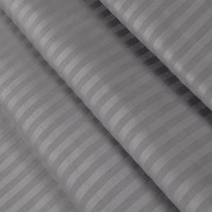 Ткань на отрез Страйп сатин полоса 3х3 см 240 см 140 гр/м2 В012