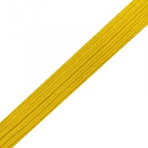 Тесьма №23 желтый 10 мм  уп 10м