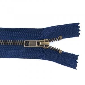 Молния джинсовая антик №5 18 см цвет F330 (318)