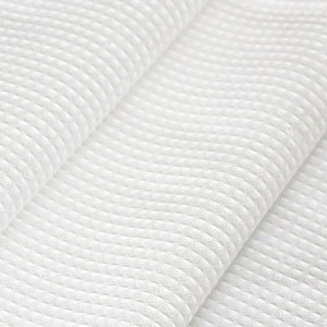 Ткань на отрез вафельное полотно отбеленное 80см 170 гр/м2