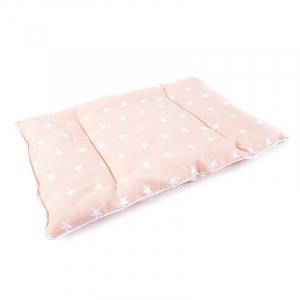 Подушка для новорожденных 40/60 цвет персиковый